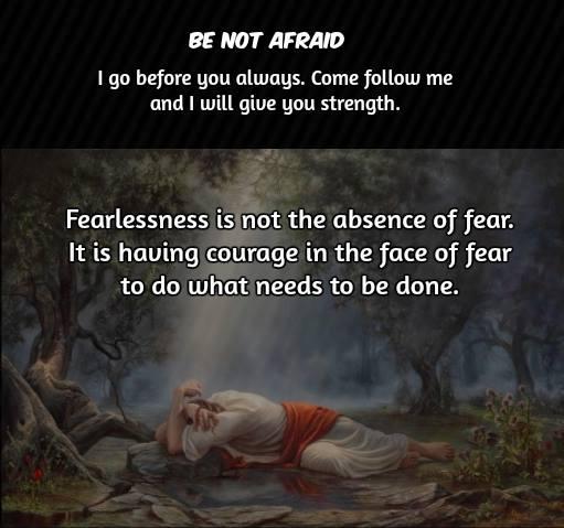 jesus fear